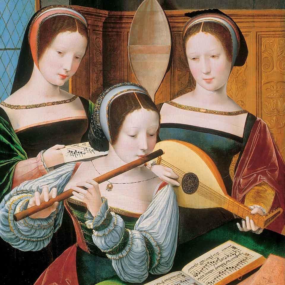 Immagine del tema musica al femminile