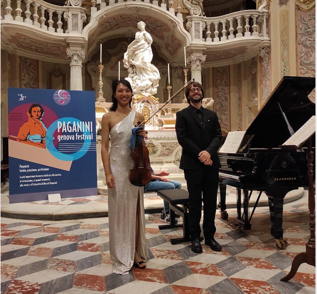 Read more about the article Il talento di Nancy Zhou al Paganini Genova Festival 2021